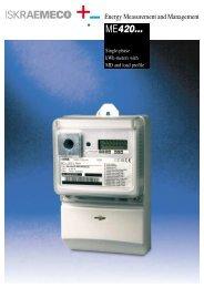 INFORMATION: Product.pdf - Iskraemeco