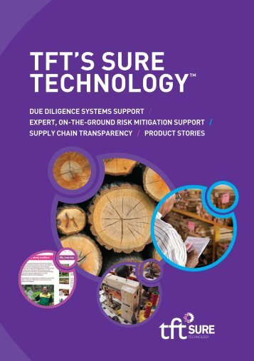 TFT'S SURE TECHNOLOGY - Support