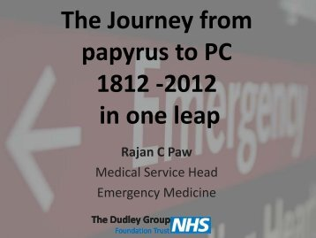Siemens – The Journey from Papyrus to PC 1812-2012 in One Leap