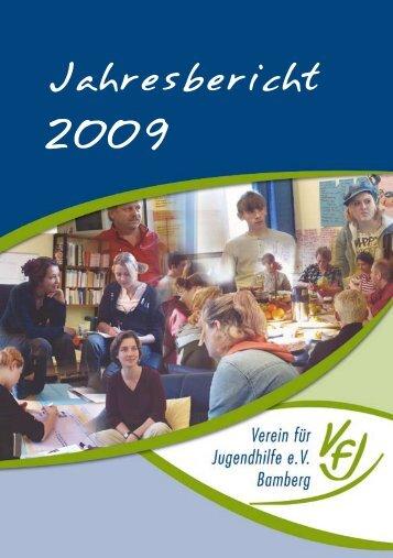 Jahresbericht 2009 - Verein für Jugendhilfe eV