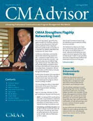 CMAA Strengthens Flagship Networking Event
