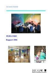 année 2006 - HUG - Département de l'enfant et de l'adolescent