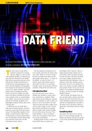 Building a database with Kexi - Linux Magazine