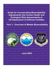 Guide for Incorporating Bioavailability Adjustments into ... - ITRC