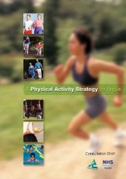PHYSICAL ACTIVITY strategy 2 - Angus Council