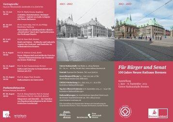 rathaus_flyer3.pdf (3.7 MB) - Staatsarchiv Bremen