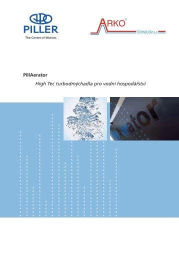 PillAerator High Tec turbodmýchadla pro vodní hospodářství - Arko ...