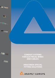 anaconda special fitting solutions - Anamet