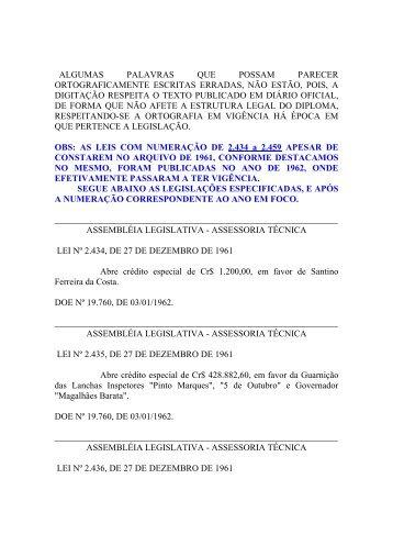 Leiord1962 - Assembléia Legislativa do Estado do Pará - Governo ...