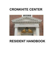 cronkhite center - Radcliffe Institute for Advanced Study - Harvard ...