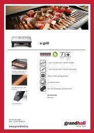 e-grill - BBQ Barbecues