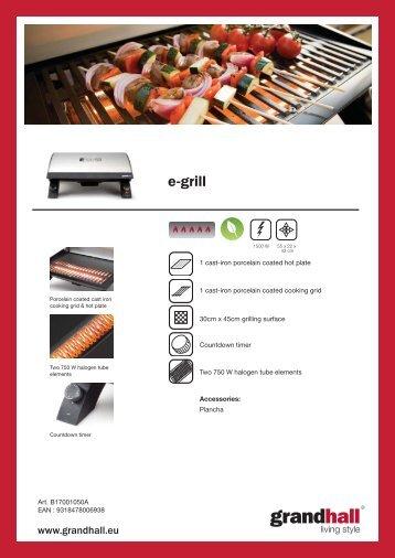 e-grill - BBQ Barbecues