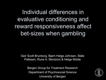 Individual differences in evaluative conditioning and reward