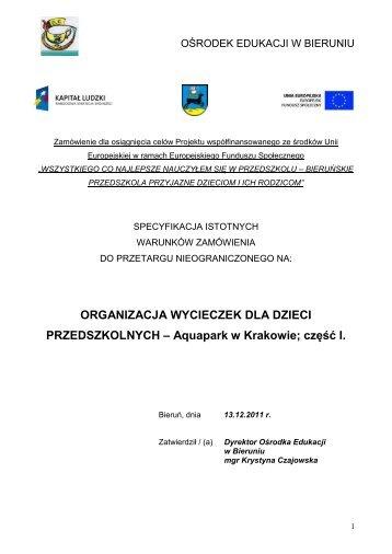 tutaj - Ośrodek Edukacji w Bieruniu - Bieruń