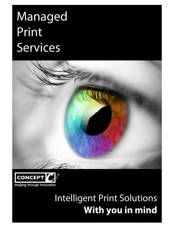 Managed Print Services - Concept Group
