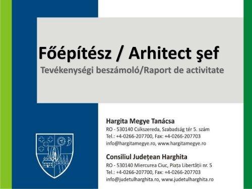 Raport de activitate - 2011