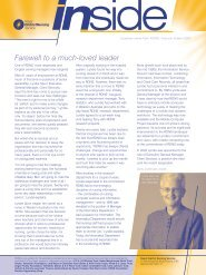 RDNS inside autumn 2007 newsletter - Royal District Nursing Service