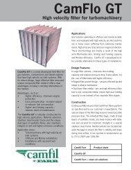 CamFlo GT Data Sheet [PDF] - Bolland Machine