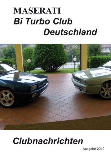 Maserati - BiTurbo Club  Deutschland