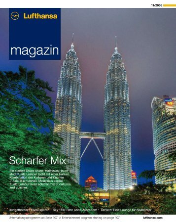 magazin magazin - Lufthansa Media Lounge: Home