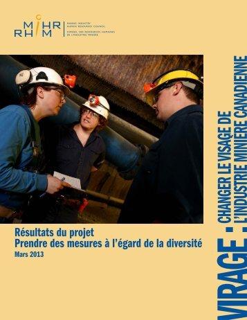 Résultats du projet - Prendre des mesures à l'égard de la ... - MiHR