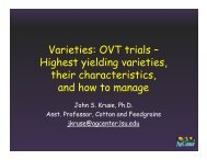 Varieties - OVT Trials - John Kruse, LSU AgCenter.pptx