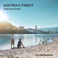AUSTRIA'S FINEST - Newsroom of the Austrian National Tourist Office