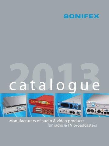Redbox Audio & Video Interfaces - Sonifex