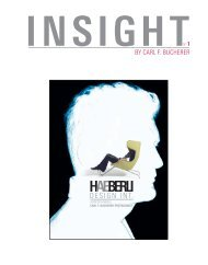 insight haeberli - Carl F. Bucherer