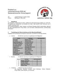 Protokoll der Vollversammlung vom 23.05.09 - Niedersächsische ...