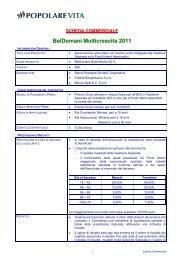 BelDomani Multicrescita 2011 - Popolare vita