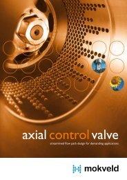 axialcontrol valve