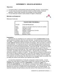 COVALENT BONDING AND MOLECULAR STRUCTURE