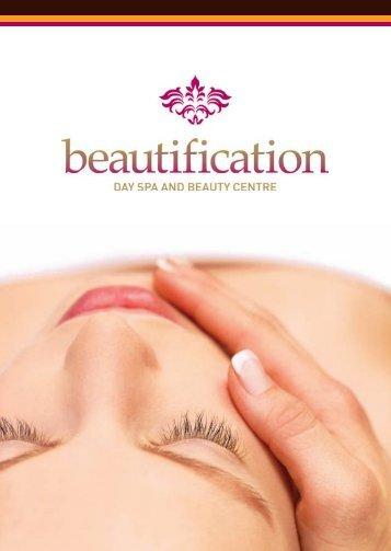 Treatment Menu - Beauty Salon Nottingham