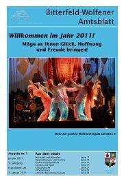 im Jahr 2011! - Stadt Bitterfeld-Wolfen
