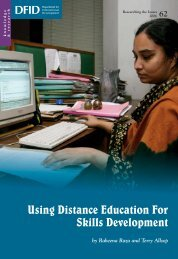 View PDF - Research for Development - Department for ...