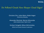 Do Polluted Clouds Have Sharper Cloud Edges? - Atmospheric ...