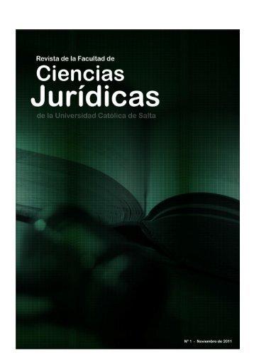 Revista digital Nº 1 - Universidad Catolica de Salta