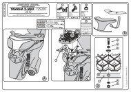 YAMAHA X-MAX 125-250 - Stelpet