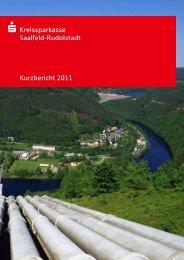 Kurzbericht 2011 - Kreissparkasse Saalfeld-Rudolstadt