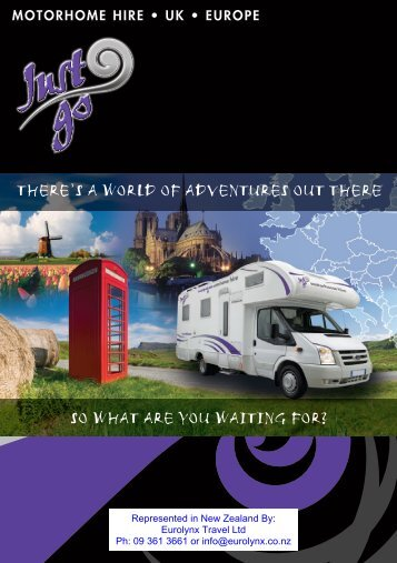 MOTORHOME HIRE • UK • EUROPE - Eurolynx Travel