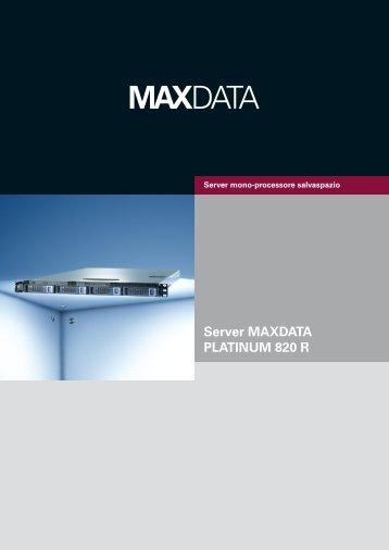 Server MAXDATA PLATINUM 820 R