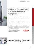 Vario Cooking Center® - Seite 3