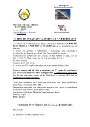 ILUSTRE COLEGIO OFICIAL - Facultade de Veterinaria de Lugo