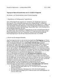 Protokoll (PDF 36 KB) - DAV Sektion Wuppertal