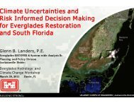 Climate Uncertainties and Risk Informed Decision Making for ...