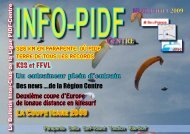 InfoPIDF 48 Site - Ligue Paris Ile de France de Vol Libre - FFVL