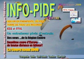 InfoPIDF 48 Site - Ligue Paris Ile de France de Vol Libre - FFVL