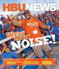 Volume 49, #2 - Fall 2012 - Houston Baptist University