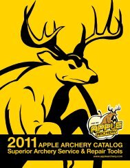 Since 1992, Apple Archery